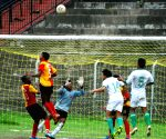 Sunrise Athletic Club v/s Assam Valley Sports Club during Super Division Football League 2013