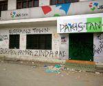 Burhan Wani - Graffiti