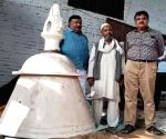 Huge bell crafted for proposed Ram Temple in Ayodhya