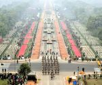 Republic day 2018 - Bird's eye view of Rajpath