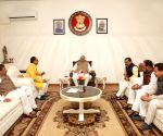 BJP leaders meet Guv over new appointments made by Nath govt