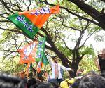 2019 Lok sabha elections - BJP's D.V. Sadananda Gowda on his way to file nomination