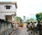 Kamrup Metropolitan district administration's demolition drive