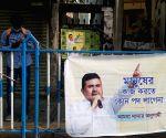 Suvendu Adhikari's controversial poster comes up in Kolkata