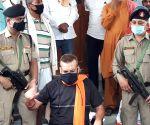 Former Bihar DGP Gupteshwar Pandey's press conference