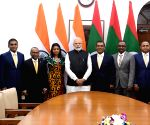 PM Modi meets Speaker of People's Majlis of The Maldives