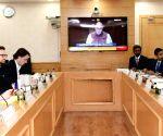 French Minister meets Prakash Javadekar