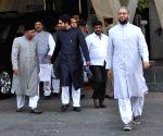 Asaduddain Owaisi meets K Chandersheker Rao