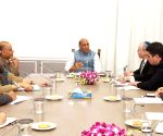 Israel's National Security Advisor meets Rajnath Singh