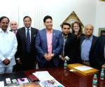 Mike Parker of IUIH calls on Telangana CM