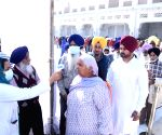 People being screened for COVID-19 at Golden Temple