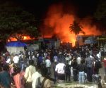 Fire at All India Industrial Exhibition