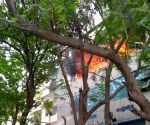 Fire breaks out at Andhra Jyothi Office