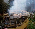 Fire devastates bungalow of Darjeeling's famous tea garden