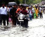 Flooded streets of Mumbai