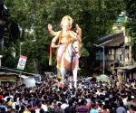 Ganesh idol at Kamathipura