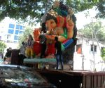 Ganesh Chaturthi preparations