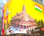 Free Photo: Ayodhaya temple foundation celebrated in New York despite ban on video display