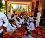 Noida farmers protest at UP power discom office