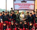 National Integration Tour - Students from Manipur meet Jitendra Singh