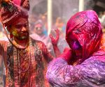 A look at traditional Holi in India's small towns