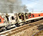 Asaoti (Haryana): Fire in Telangana Express; no casualties