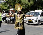 Raavan spreads traffic awareness in Haryana