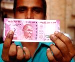 : (161116) Kolkata: Indelible ink mark for demonetised cash exchange