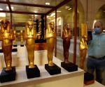 EGYPT CAIRO EGYPTIAN MUSEUM REOPENING