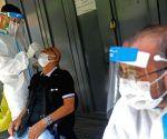 LEBANON BEIRUT COVID 19 PCR TEST
