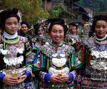 CHINA-GUIZHOU-DONG ETHNIC GROUP-FOLK CULTURE