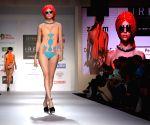 Mumbai : Models during India Resortwear Fashion Week (IRFW)
