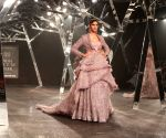 India Couture Week 2019 -  Sara Ali Khan walks the ramp for Falguni Peacock
