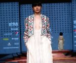 Models showcase Ragini Ahuja's creations on Day 1 of Lotus Make-up India Fashion Week