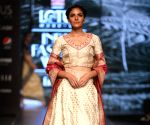 Lotus Make-up India Fashion Week - Anuradha Kuli's collection showcased