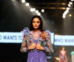 Lotus Make-up India Fashion Week - Collection of 'Falguni Shane Peacock' showcased