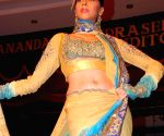 A Model walking the ramp at the BD Somani's fashion show in Mumbai.