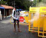 Karnataka CM's residence premises being sanitised amid rising cases of COVID-19