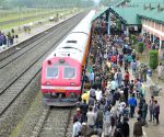 J&K CM flags off trains between Banihal and Baramulla