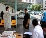 MIDEAST GAZA COVID 19 MEDICAL SUPPLY SHORTAGE
