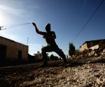MIDEAST NABLUS PROTEST SETTLEMENT CLASHES