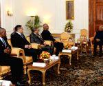 Seychelles Parliamentary delegation meets President Kovind