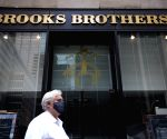 U.S.-NEW YORK-BROOKS BROTHERS-BANKRUPTCY PROTECTION