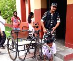 2019 LS Polls - Phase VII - Physically challenged man