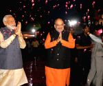 File Photos: Narendra Modi and Amit Shah after BJP's historic win in 2019 Lok Sabha elections