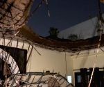 A portion of roof collapses in Rohini