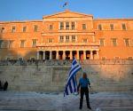 GREECE ATHENS EU DEBT PROTEST