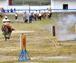 CHINA TIBET NAGQU HORSE RACE