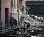 EGYPT CAIRO ITALIAN CONSULATE EXPLOSION