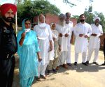 Re-polling at Amritsar polling station